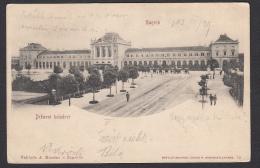 CROATIA - Zagreb, Year 1903, Railway Station, Bahnhof - Kroatië
