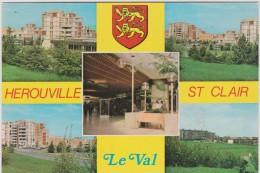 R :  Calvados : HEROUVILLE  ST  CLAIR ;  Le  Val    : Vues  (  Prés  Caen ) - Herouville Saint Clair