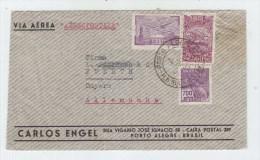 Brazil/Germany AIRMAIL COVER 1933 - Brazil