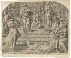 Philippe Galle - Heemskerk - Jerome Cock Gravure Sur Cuivre Du 16eme - Estampes & Gravures