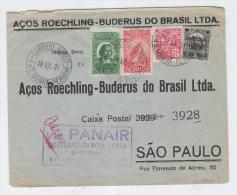 Brazil PANAIR AIRMAIL COVER 1931 - Brazil