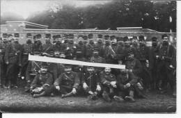 Groupe De Soldats Français Réservistes Régiment Du Nord De La France1 Carte Photo 1914-1918 14-18 Ww1 Wk - Guerre, Militaire