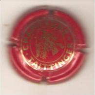 CAPSULE MUSELET CHAMPAGNE TAITTINGER REIMS (or Sur Rouge Vermillon) - Taittinger