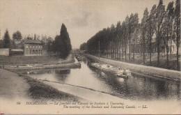 59 TOURCOING  La Jonction Des Canaux De Roubaix à Tourcoing - Tourcoing