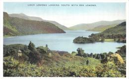 Loch Lomond Looking South With Ben Lomond, Scotland -Dennis L.1501 Unused - Argyllshire