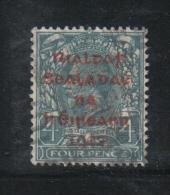 W 1883 - IRLANDA , Il  4 Penny  Azzurro  Usato - Usati