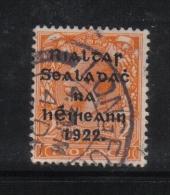 W 1886 - IRLANDA , Il  2 Penny  Arancio Usato - 1922 Governo Provvisorio