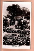 RP NIGERIA KANO POT POTTERY MARKET POSTCARD RP Nigéria Carte-photo MARCHE By CMS BOOKSHOP LAGOS - Nigeria