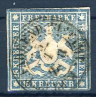 W�rttemberg Michel Nr. 15 gestempelt used