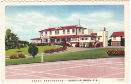 Mandeville: Hotel MANCHESTER  - Jamaica, B.W.I. - Jamaica