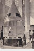CPSM CONQUETE SPATIALE SOVIETIQUE 1959 1960 SPOUTNIK ? MANQUE TIMBRE MOSCOU - Astronomia