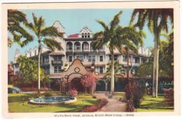 Kingston: Myrtle Bank Hotel  - Jamaica, British West Indies      -  B.W.I. - Jamaica
