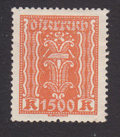 Austria, Scott #283, Mint Hinged, Symbols Of Labor And Industry, Issued 1923 - Ungebraucht
