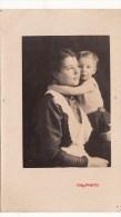 Photo Orig. Allemande- Enfant Allemand Dans Les Bras De Sa Maman Pose Photo  (guerre 14-18)TTBE - Enfants