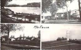 82 - Malause - Le Bac, Route Nationale, La Gare, Le Château D'eau - France