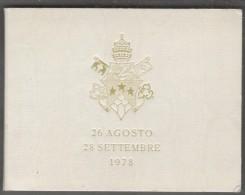 CITTA Del VATICANO - Giovanni Paolo I - 1000 Lire (1978) Vatican City State - Vaticano