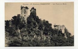 CP, 19 , ARGENTAT , Aux Environs, Les Tours De Merle - Argentat