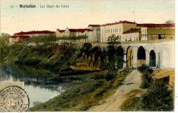 FRANCE - MONTAUBAN - LES QUAIS DU COURS - Montauban