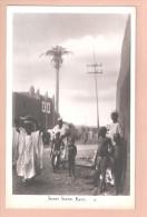 RP NIGERIA STREET SCENE - KANO POSTCARD ETHNIC COPYRIGHT CMS BOOKSHOP LAGOS - Nigeria