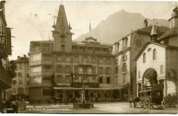 Brig - Hotel  Couronne Et Poste Saint  Sebastiansplatz  N° 2264 - VS Valais