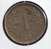 FINLANDE 1 MARKKA 1922 - Finlandia