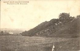 MONT-SUR-MARCHIENNE : Propriété De M. Dewandre - RARE CPA - Edit. O. Lambert-Botte - Cachet Poste 1920 - Charleroi