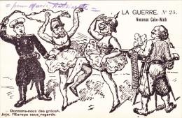 CPI GUERRE 1914 - 18 SATIRIQUE @ Danse Allemande - N°24 Nouveau Cake Walk En 1914 - Allemagne Kaiser Wilhelm II - Satira