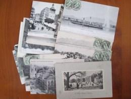 20 CARTES SUISSE AVEC ANIMATIONS ET DOS 1900 - Cartes Postales