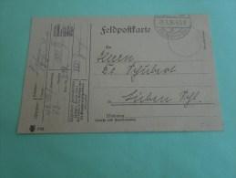 21 janvier 1916 militaria guerre 14-18  feldpostkart franchise militaire Deutsche reich  Allemagne   Cover letter
