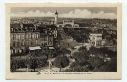 CP, 87 , LIMOGES , Vue Panoramique Sur La Gare - Limoges