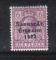 W 1888 - IRLANDA , Il  6 Penny  Lilla *  Mint - 1922 Governo Provvisorio