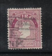 W 1890 - IRLANDA , Il  1 1/2 Penny  Lilla - Usati