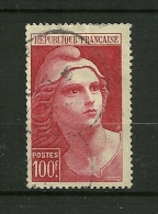 FRANCE 1945/47    N° 733     Marianne De Gandon Format 22x36       Oblitéré - Unused Stamps