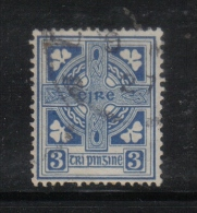 W 1891 - IRLANDA , Il  3 Penny Azzurro N. 45 Usato - Usati