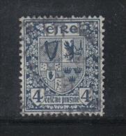 W1892 - IRLANDA , Il  4 Penny Azzurro N. 46 Usato - Usati