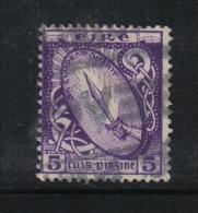 W1893 - IRLANDA , Il  5 Penny Violetto N. 47 Usato - 1922 Governo Provvisorio