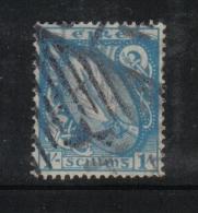 W1895 - IRLANDA , Il  1 Scellino Azzurro Verde N. 51 Usato - 1922 Governo Provvisorio