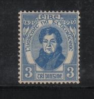 W1899 - IRLANDA , 3 P. N. 56 *  Mint. O'Connell - 1922-37 Stato Libero D'Irlanda