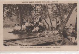 UNE HALTE  APRES LE VOYAGE  EN RADEAU  ANNAMITE - Myanmar (Burma)