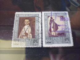 PEROU TIMBRE  Ou SÉRIE POSTE AERIENNE  YVERT N° 198.199 - Peru