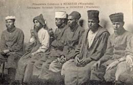 PRISONNIERS COLONIAUX A MUNSTER - Muenster