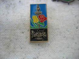 Pin�s de la Floriade 1992: Exposition Internationale d'horticulture aux Pays Bas