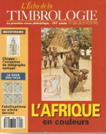 L´ Echo De La Timbrologie   -    N°  1655    -    Juillet / Août    1993 - Magazines