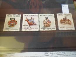 PÉROU TIMBRE  Ou SÉRIE POSTE AÉRIENNE  YVERT N° 356.359 - Peru