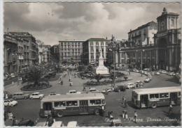 NAPOLI PIAZZA DANTE AUTOBUS PULMANN CORRIERE BUS - Napoli (Naples)