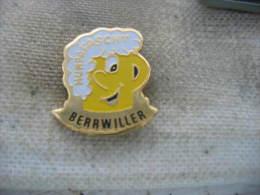 Pin's F�te de la Bi�re (Humpafascht en Alsacien) � Berrwiller (D�pt 68)