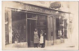 SALINS Les BAINS - Magasin De Chaussures Devant Mme Pichard Et Melle Poitry. - France