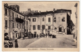 MILLESIMO - PALAZZO COMUNALE - SAVONA - 1935 - Animata - Vedi Retro - Formato Piccolo - Savona