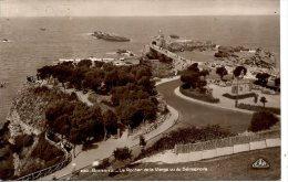 FRANCE - BIARRITZ - LE ROCHER DE LA VIERGE VU DU SEMAPHORE RP 1930 - Biarritz
