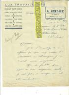 54 - Meurthe-et-moselle - JARNY - Facture BRESLER - Confections, Tissus, Lingerie, Bonneterie – 1945 - REF 98B - France